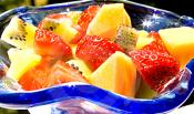 Fruit Salad With A Sugar Syrup